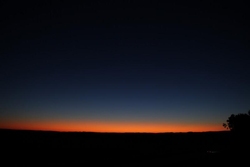 Sonnenuntergang Pfaffenschlag
